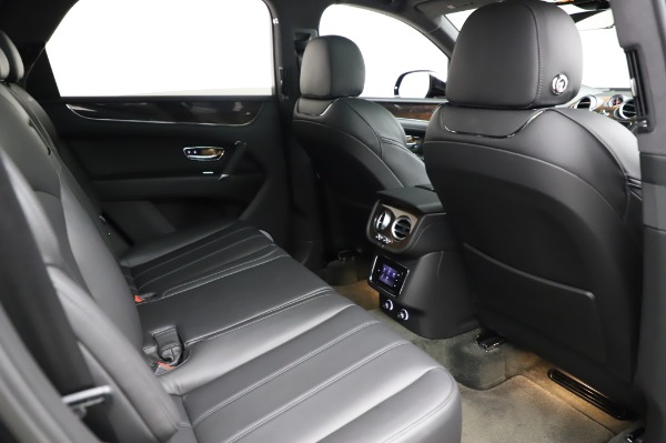 Used 2018 Bentley Bentayga Onyx Edition for sale Call for price at Bugatti of Greenwich in Greenwich CT 06830 28