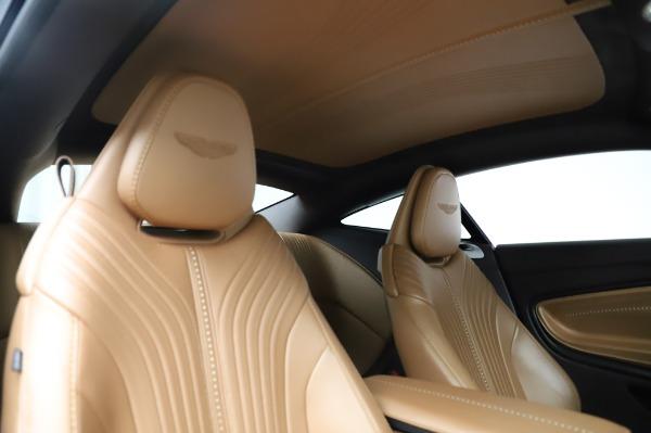 Used 2018 Aston Martin DB11 V8 for sale $151,900 at Bugatti of Greenwich in Greenwich CT 06830 20