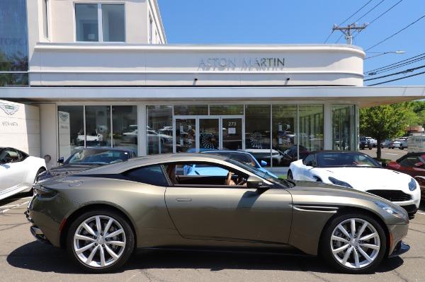 Used 2018 Aston Martin DB11 V8 for sale $151,900 at Bugatti of Greenwich in Greenwich CT 06830 22