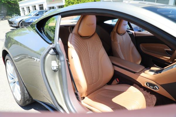 Used 2018 Aston Martin DB11 V8 for sale $151,900 at Bugatti of Greenwich in Greenwich CT 06830 23