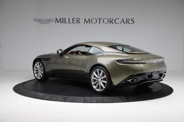 Used 2018 Aston Martin DB11 V8 for sale $151,900 at Bugatti of Greenwich in Greenwich CT 06830 3