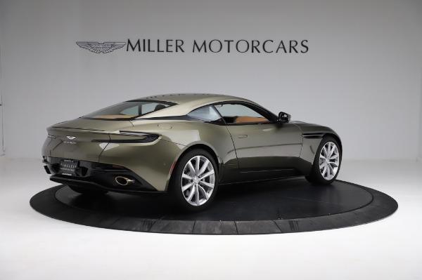 Used 2018 Aston Martin DB11 V8 for sale $151,900 at Bugatti of Greenwich in Greenwich CT 06830 7