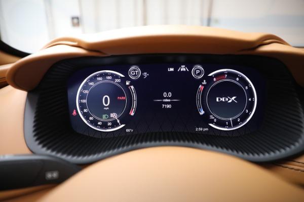 New 2021 Aston Martin DBX for sale $207,886 at Bugatti of Greenwich in Greenwich CT 06830 18
