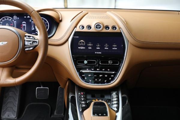New 2021 Aston Martin DBX for sale $207,886 at Bugatti of Greenwich in Greenwich CT 06830 20