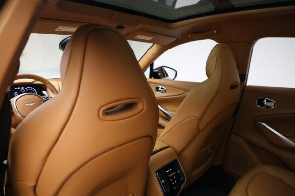 New 2021 Aston Martin DBX for sale $207,886 at Bugatti of Greenwich in Greenwich CT 06830 21