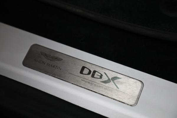 New 2021 Aston Martin DBX for sale $207,886 at Bugatti of Greenwich in Greenwich CT 06830 22