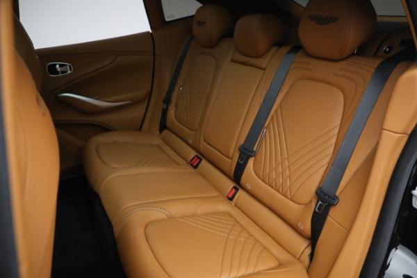 New 2021 Aston Martin DBX for sale $207,886 at Bugatti of Greenwich in Greenwich CT 06830 24