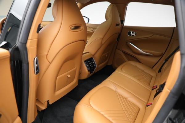 New 2021 Aston Martin DBX for sale $207,886 at Bugatti of Greenwich in Greenwich CT 06830 25