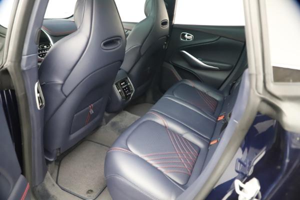 New 2021 Aston Martin DBX for sale $213,086 at Bugatti of Greenwich in Greenwich CT 06830 19