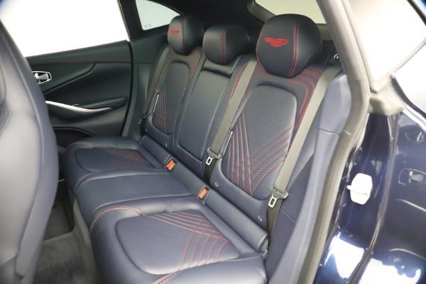 New 2021 Aston Martin DBX for sale $213,086 at Bugatti of Greenwich in Greenwich CT 06830 20