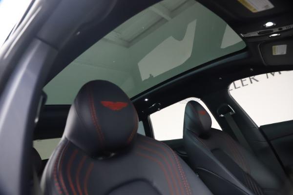 New 2021 Aston Martin DBX for sale $213,086 at Bugatti of Greenwich in Greenwich CT 06830 24