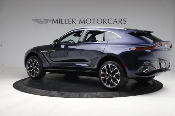 New 2021 Aston Martin DBX for sale $213,086 at Bugatti of Greenwich in Greenwich CT 06830 3