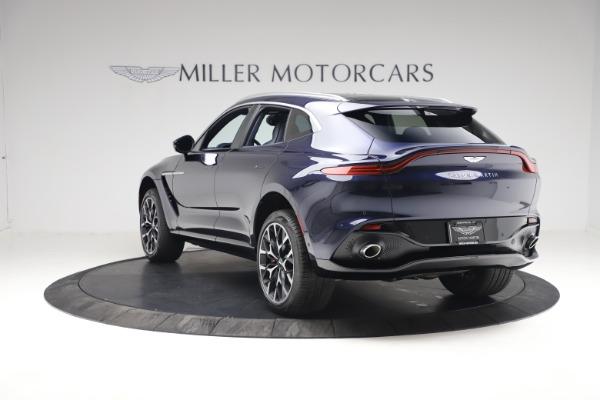 New 2021 Aston Martin DBX for sale $213,086 at Bugatti of Greenwich in Greenwich CT 06830 4