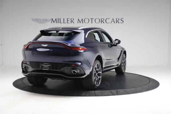 New 2021 Aston Martin DBX for sale $213,086 at Bugatti of Greenwich in Greenwich CT 06830 6