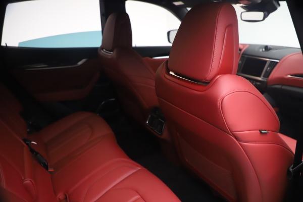 New 2021 Maserati Levante Q4 GranSport for sale $92,485 at Bugatti of Greenwich in Greenwich CT 06830 24
