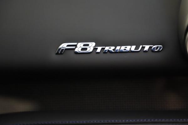 Used 2020 Ferrari F8 Tributo for sale $349,900 at Bugatti of Greenwich in Greenwich CT 06830 21