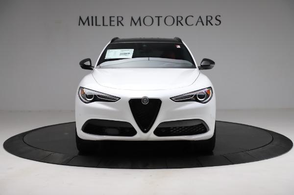 New 2021 Alfa Romeo Stelvio Ti Sport Q4 for sale $56,240 at Bugatti of Greenwich in Greenwich CT 06830 12