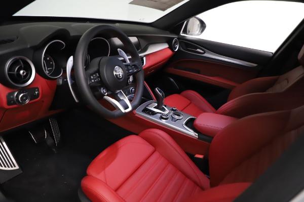 New 2021 Alfa Romeo Stelvio Ti Sport Q4 for sale $56,240 at Bugatti of Greenwich in Greenwich CT 06830 13