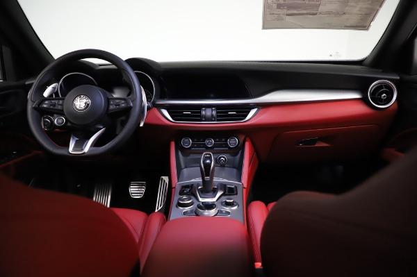 New 2021 Alfa Romeo Stelvio Ti Sport Q4 for sale $56,240 at Bugatti of Greenwich in Greenwich CT 06830 16