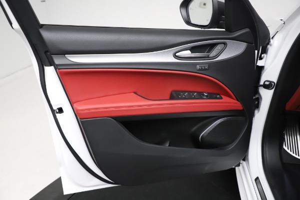 New 2021 Alfa Romeo Stelvio Ti Sport Q4 for sale $56,240 at Bugatti of Greenwich in Greenwich CT 06830 17