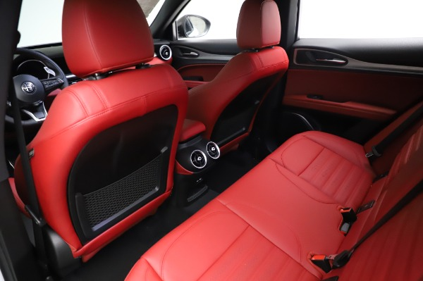 New 2021 Alfa Romeo Stelvio Ti Sport Q4 for sale $56,240 at Bugatti of Greenwich in Greenwich CT 06830 18