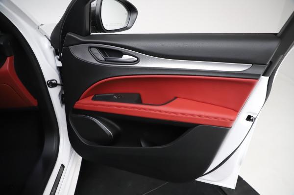 New 2021 Alfa Romeo Stelvio Ti Sport Q4 for sale $56,240 at Bugatti of Greenwich in Greenwich CT 06830 24