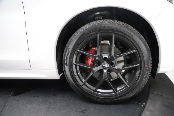 New 2021 Alfa Romeo Stelvio Ti Sport Q4 for sale $56,240 at Bugatti of Greenwich in Greenwich CT 06830 28