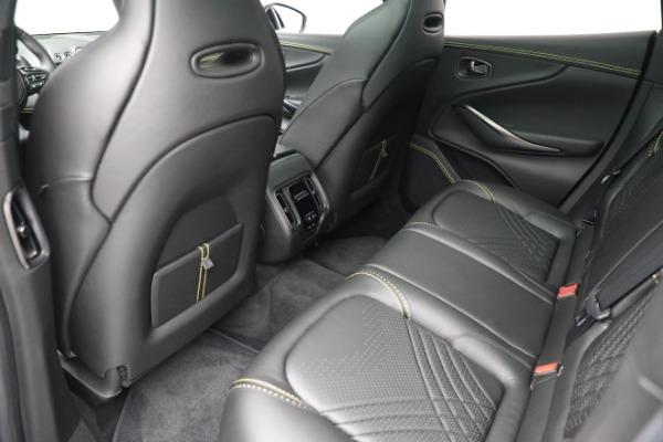 New 2021 Aston Martin DBX for sale $209,686 at Bugatti of Greenwich in Greenwich CT 06830 18