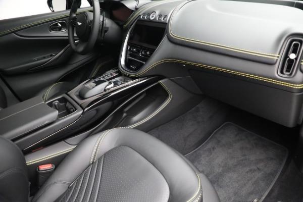 New 2021 Aston Martin DBX for sale $209,686 at Bugatti of Greenwich in Greenwich CT 06830 20
