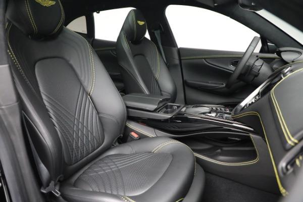 New 2021 Aston Martin DBX for sale $209,686 at Bugatti of Greenwich in Greenwich CT 06830 21