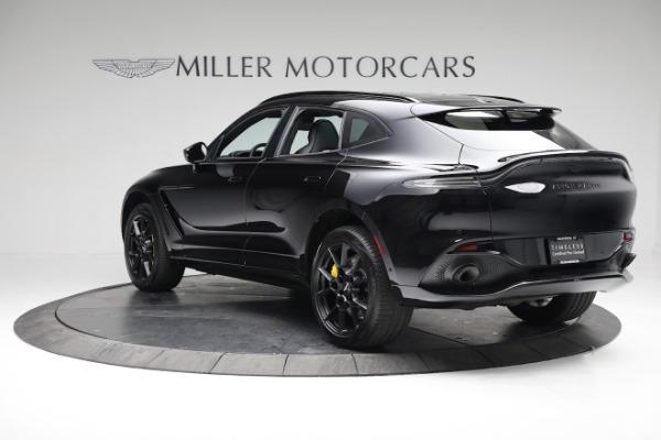 New 2021 Aston Martin DBX for sale $209,686 at Bugatti of Greenwich in Greenwich CT 06830 4