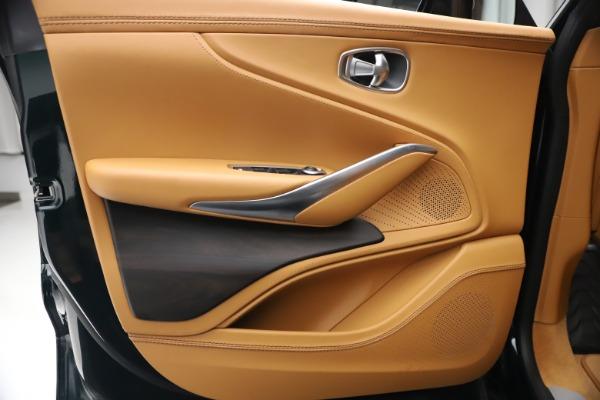 New 2021 Aston Martin DBX for sale $214,986 at Bugatti of Greenwich in Greenwich CT 06830 13