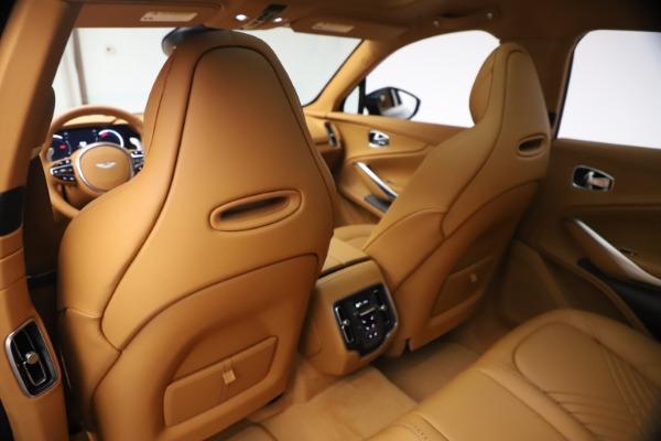 New 2021 Aston Martin DBX for sale $214,986 at Bugatti of Greenwich in Greenwich CT 06830 15