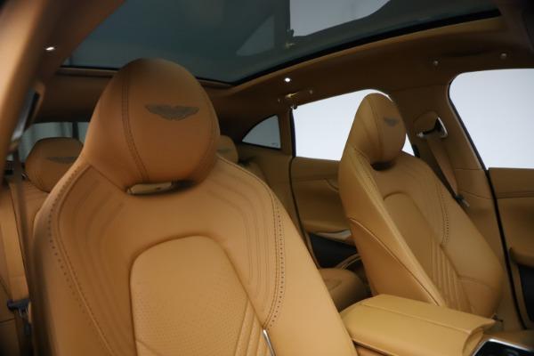 New 2021 Aston Martin DBX for sale $214,986 at Bugatti of Greenwich in Greenwich CT 06830 19