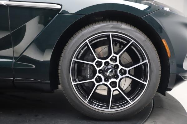 New 2021 Aston Martin DBX for sale $214,986 at Bugatti of Greenwich in Greenwich CT 06830 21