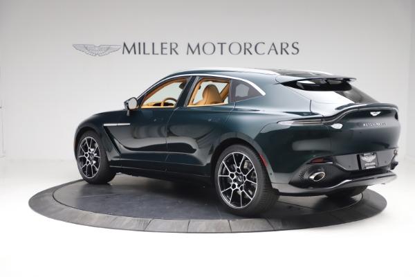 New 2021 Aston Martin DBX for sale $214,986 at Bugatti of Greenwich in Greenwich CT 06830 3