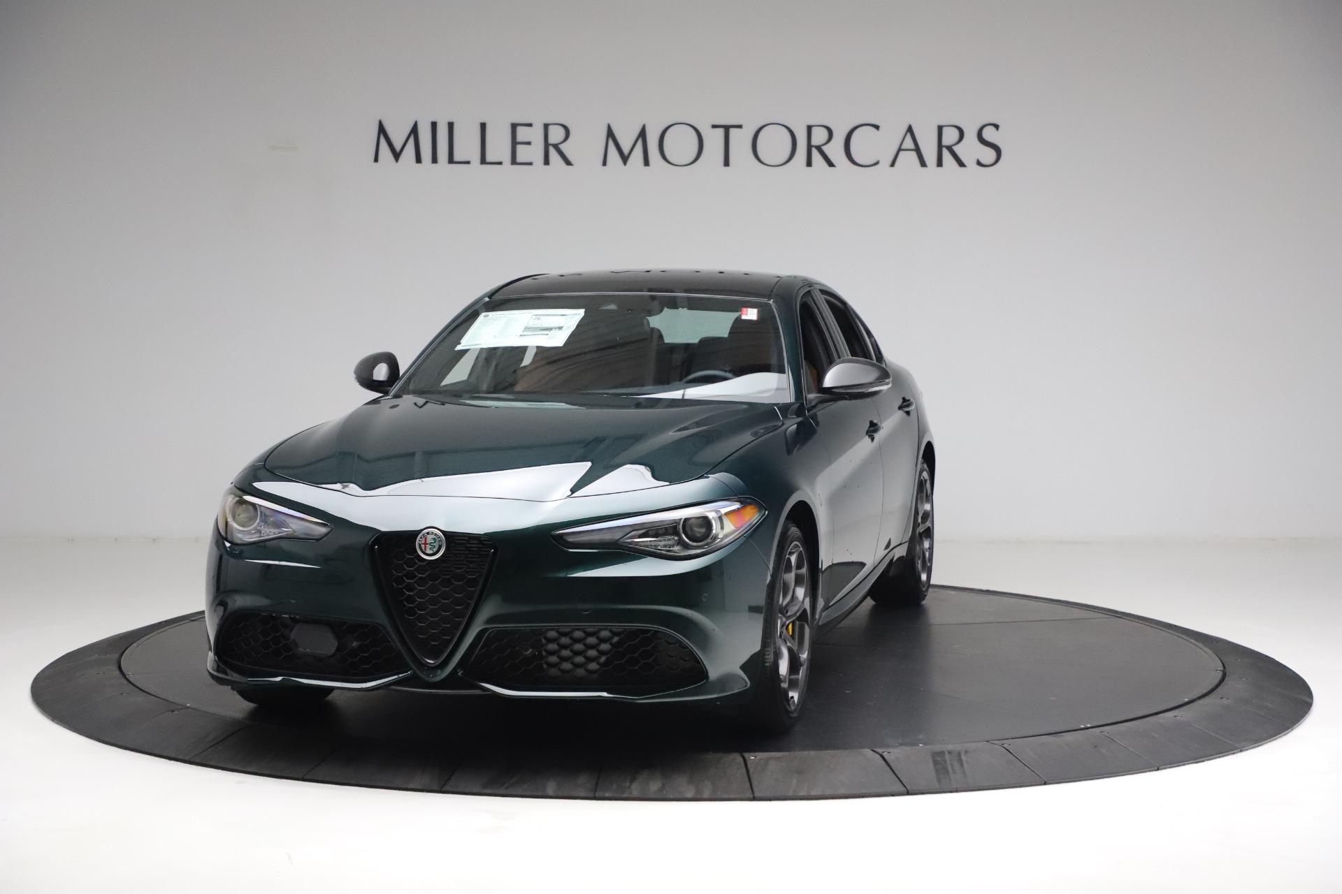 New 2021 Alfa Romeo Giulia Ti Sport Q4 for sale $54,050 at Bugatti of Greenwich in Greenwich CT 06830 1