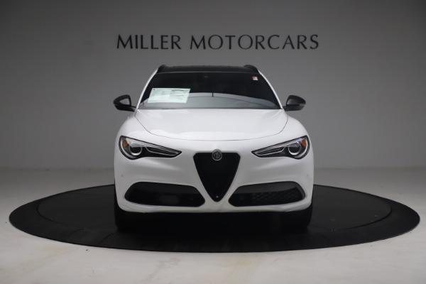 New 2021 Alfa Romeo Stelvio Ti Sport Q4 for sale $54,095 at Bugatti of Greenwich in Greenwich CT 06830 13