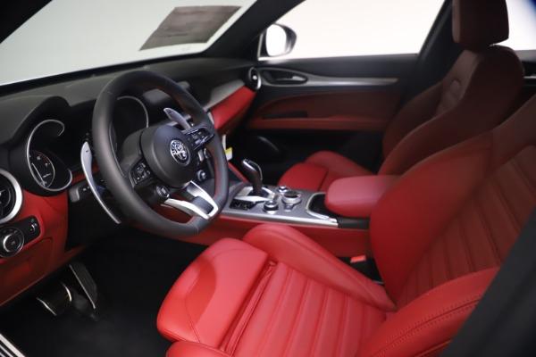 New 2021 Alfa Romeo Stelvio Ti Sport Q4 for sale $54,095 at Bugatti of Greenwich in Greenwich CT 06830 14