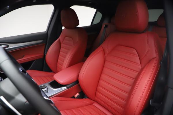 New 2021 Alfa Romeo Stelvio Ti Sport Q4 for sale $54,095 at Bugatti of Greenwich in Greenwich CT 06830 16