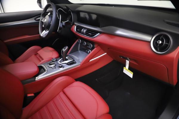 New 2021 Alfa Romeo Stelvio Ti Sport Q4 for sale $54,095 at Bugatti of Greenwich in Greenwich CT 06830 22