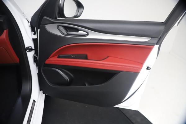 New 2021 Alfa Romeo Stelvio Ti Sport Q4 for sale $54,095 at Bugatti of Greenwich in Greenwich CT 06830 24