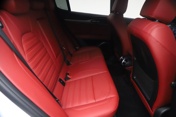 New 2021 Alfa Romeo Stelvio Ti Sport Q4 for sale $54,095 at Bugatti of Greenwich in Greenwich CT 06830 26