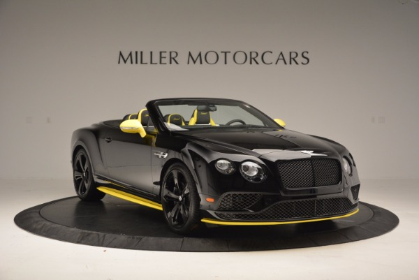 New 2017 Bentley Continental GT Speed Black Edition Convertible for sale Sold at Bugatti of Greenwich in Greenwich CT 06830 8