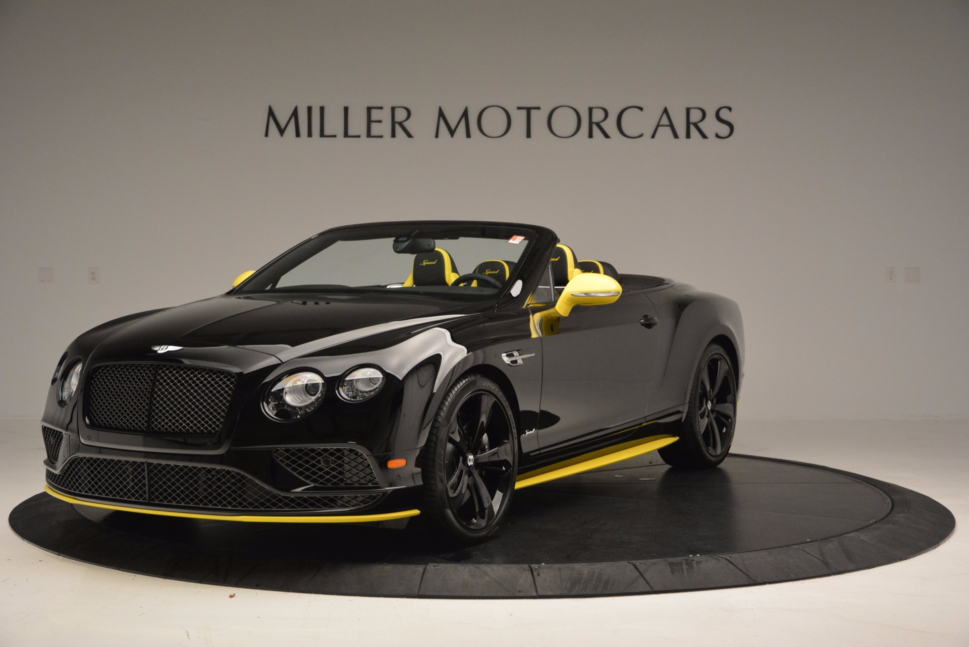 New 2017 Bentley Continental GT Speed Black Edition Convertible for sale Sold at Bugatti of Greenwich in Greenwich CT 06830 1