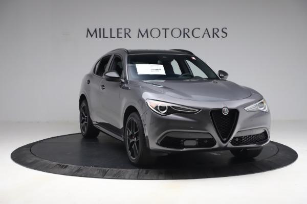 New 2021 Alfa Romeo Stelvio Ti Sport Q4 for sale $57,200 at Bugatti of Greenwich in Greenwich CT 06830 12