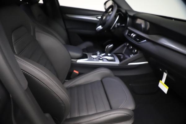 New 2021 Alfa Romeo Stelvio Ti Sport Q4 for sale $57,200 at Bugatti of Greenwich in Greenwich CT 06830 22