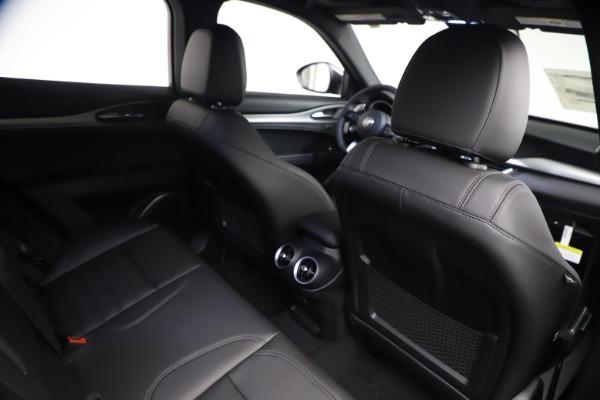 New 2021 Alfa Romeo Stelvio Ti Sport Q4 for sale $57,200 at Bugatti of Greenwich in Greenwich CT 06830 24