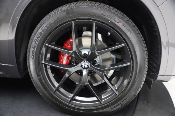New 2021 Alfa Romeo Stelvio Ti Sport Q4 for sale $57,200 at Bugatti of Greenwich in Greenwich CT 06830 26