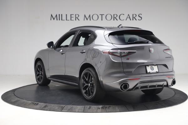 New 2021 Alfa Romeo Stelvio Ti Sport Q4 for sale $57,200 at Bugatti of Greenwich in Greenwich CT 06830 5